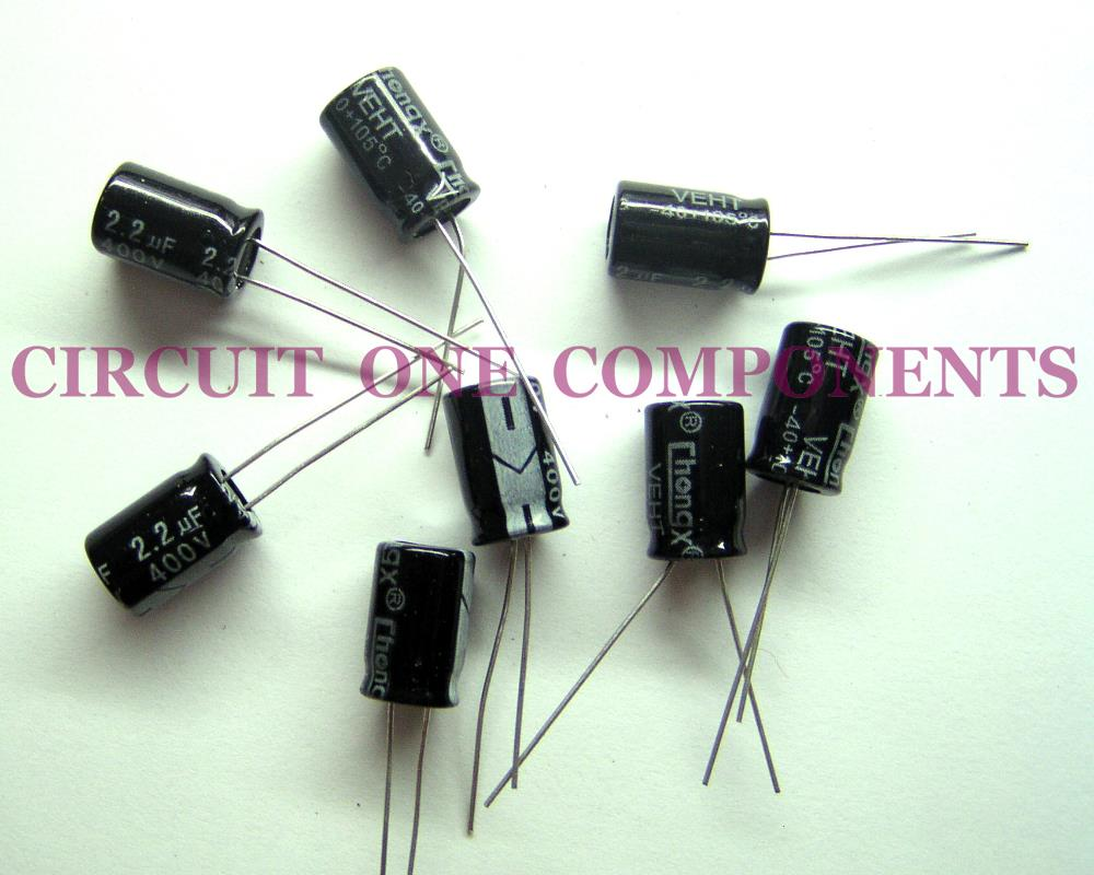 Electrolytic Capacitor 2.2uF 400v Servicing Part - Each