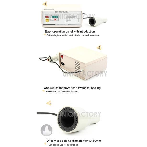 Electromagnetic Induction Aluminium Foil Sealing Machine 1-5CM Bottle