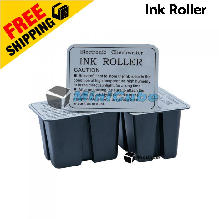 Electronic Checkwriter Cheque Writer Ink Roller