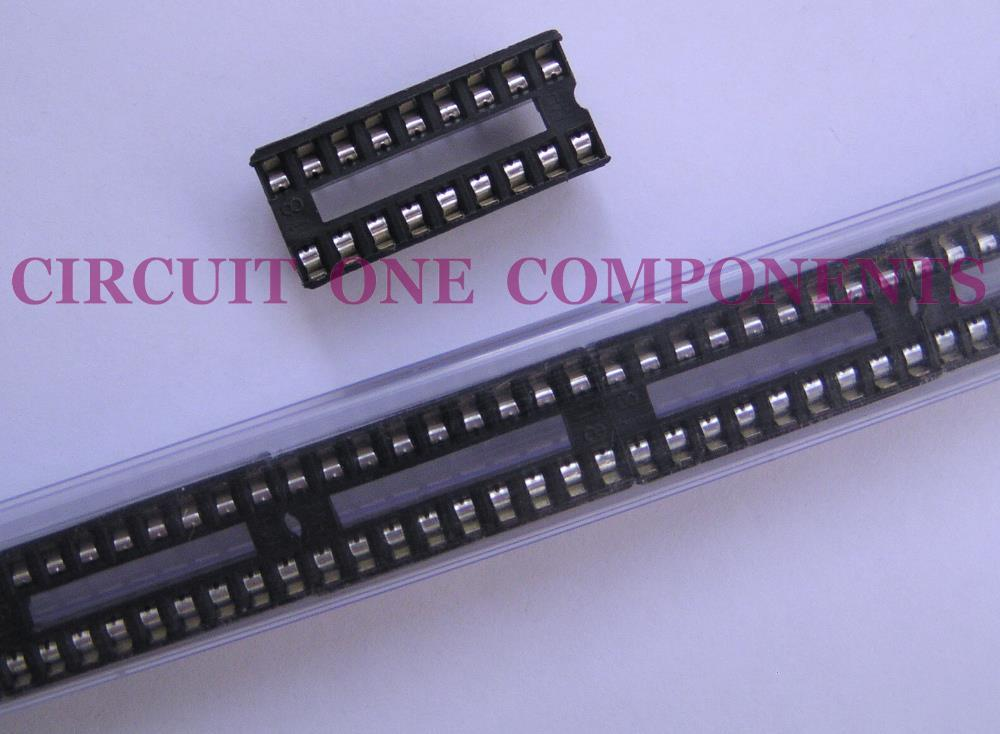 Electronic Component - 18 pin DIL IC Holder - each