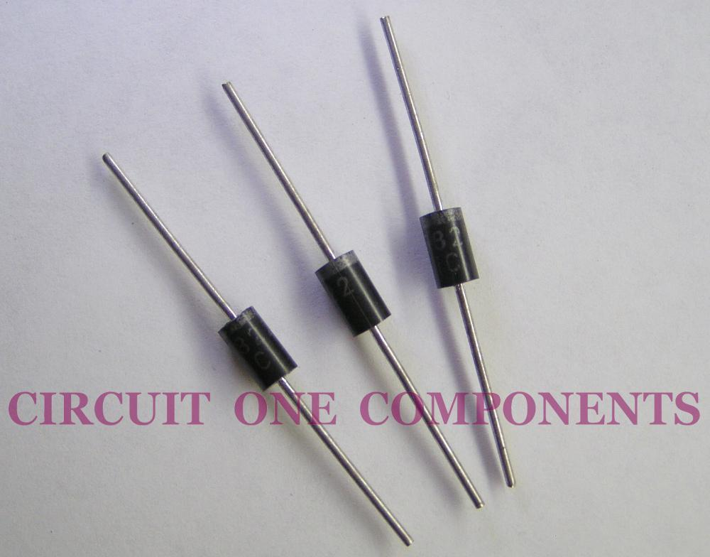 Electronic Component 1N5822 Schottky Rectifier - each