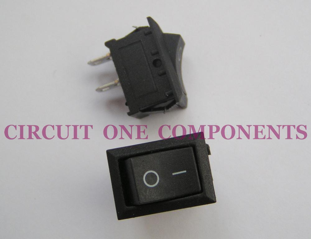 Electronic Component - 2 pins Rocker Switch - each