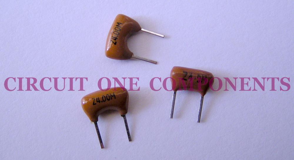 Electronic Component - 4.0 Mhz ceramic resonator 2 pin - each