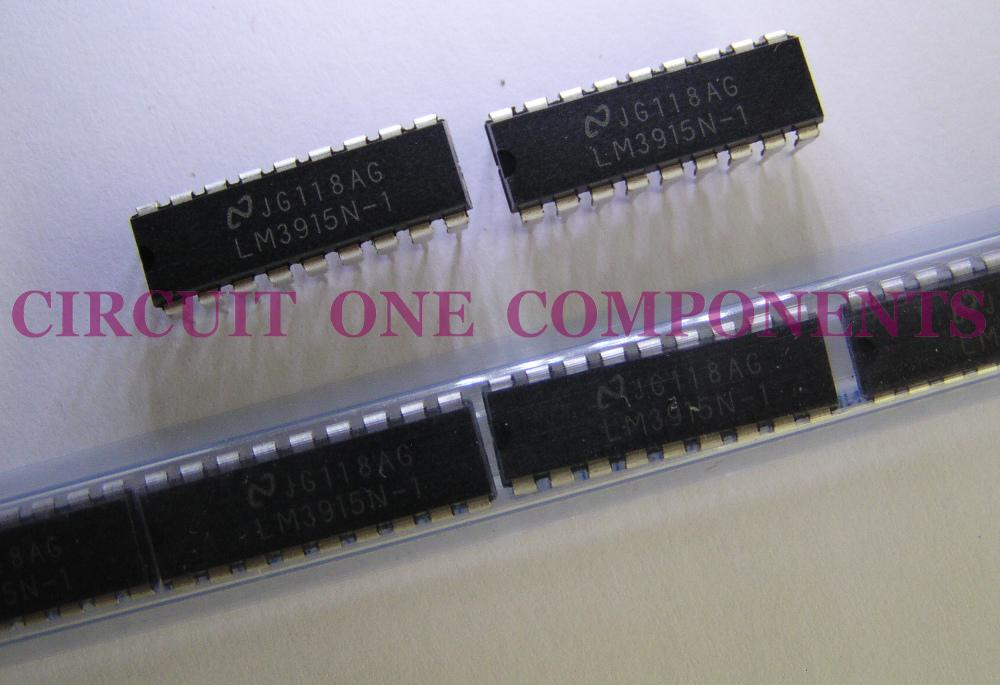 Electronic Component - LM3915N dot/bar LED display IC - each