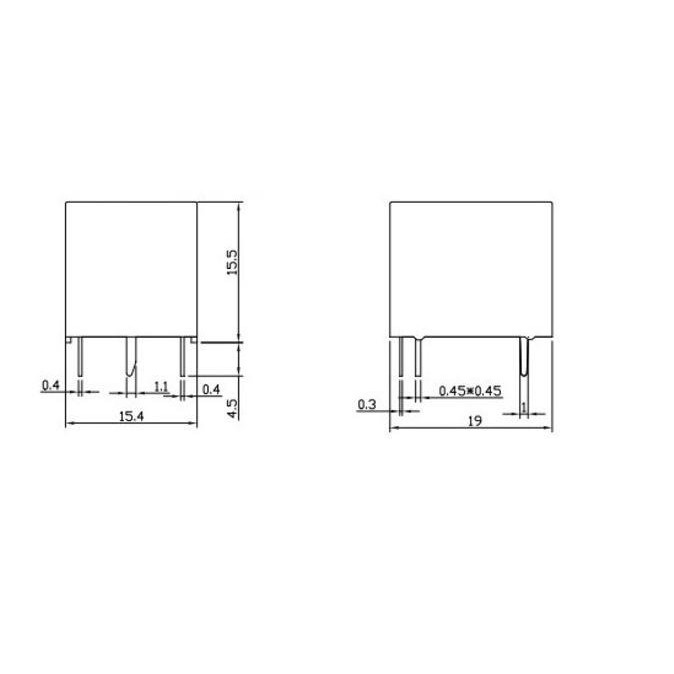 Electronic Component - SPDT 5V 5vDC 10A 30VDC 250VAC Relay SRD (5 Pin)