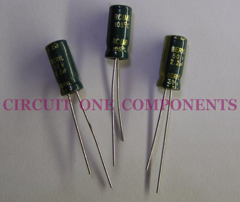 Electronic Components 22uf 50v El End 4 19 2019 850 Am Capacitorcircuit Electrolytic Capacitor Each