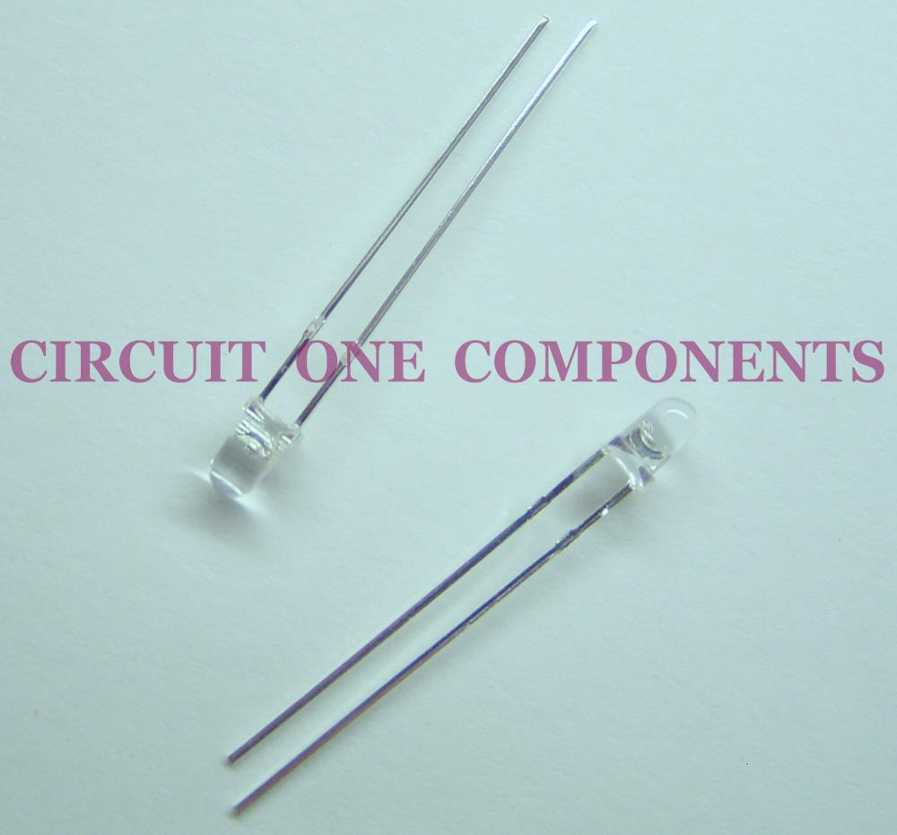 Electronic Components - 3mm Light Sensitive Diode - Each