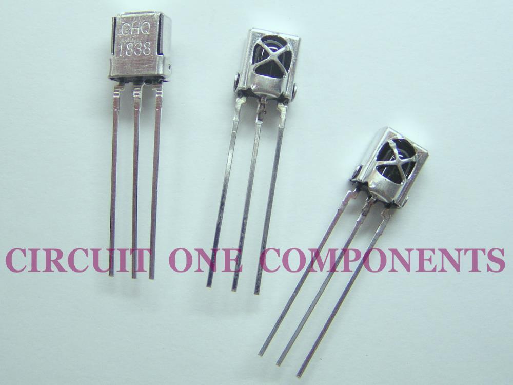 Electronic Components - VS1838B / HX1838 Universal IR Sensor - Each