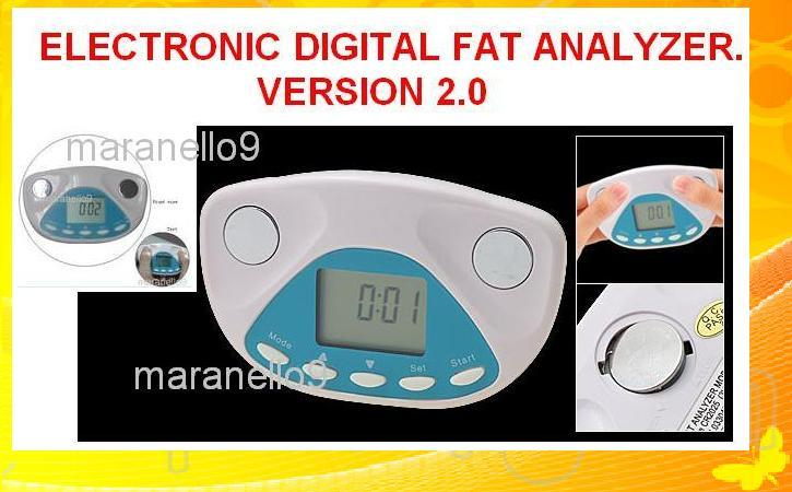 electronic digital body fat analyze end 11 1 2019 12 40 am