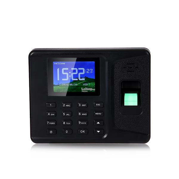 ELECTRONIC Fingerprint Time Attendance System Digital Reader Machine