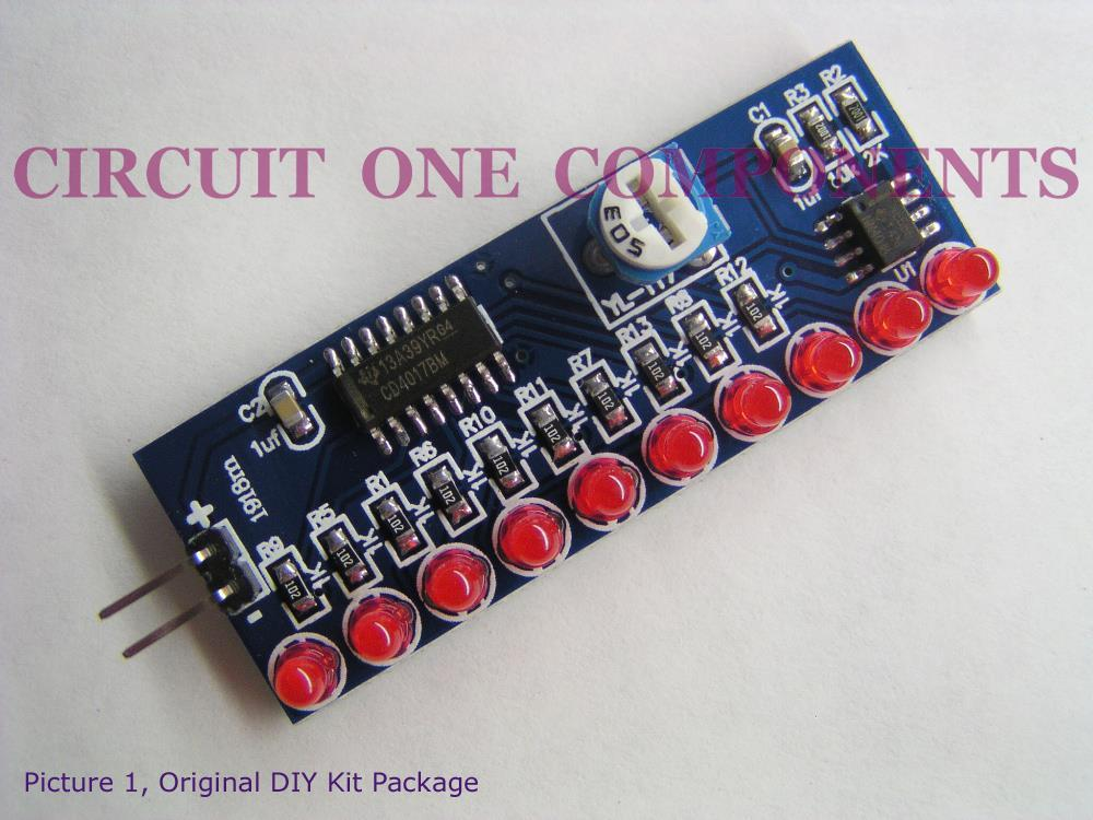 Electronic Kit 10 Channel Smd Led Running Lights Each