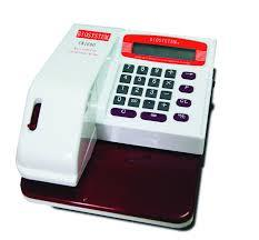 ELECTRONIC MULTI CURRENCY CHEQUE WRITER + 15 YEARS WARRANTY