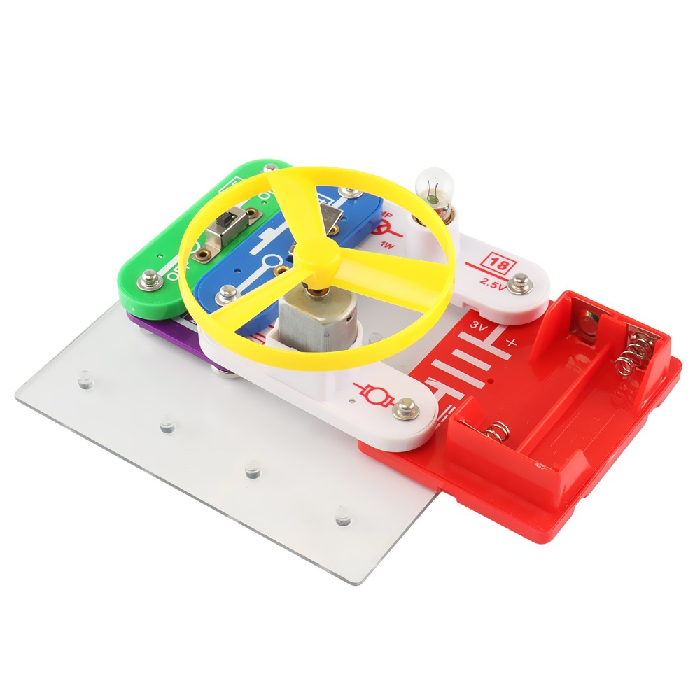 Electronics Discovery Kit Diy Elect End 4 12 2019 1124 Am How To Build An Electric Circuit Building Blocks Educati