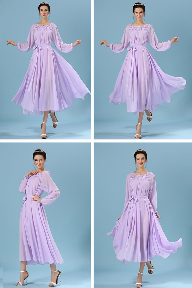 Light Purple Maxi Dress