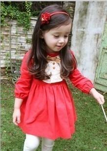 613408773f28 Elegant princess baby girl Red Dress (end 5 1 2019 12 00 AM)