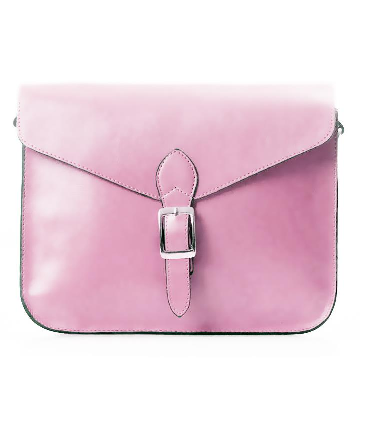 Elegant Pure Colour Single Shoulder Bag 15483 (Pink)