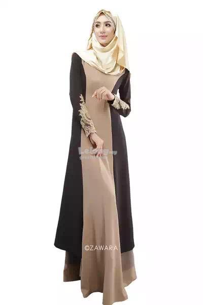 Maxi dress muslimah malaysia map