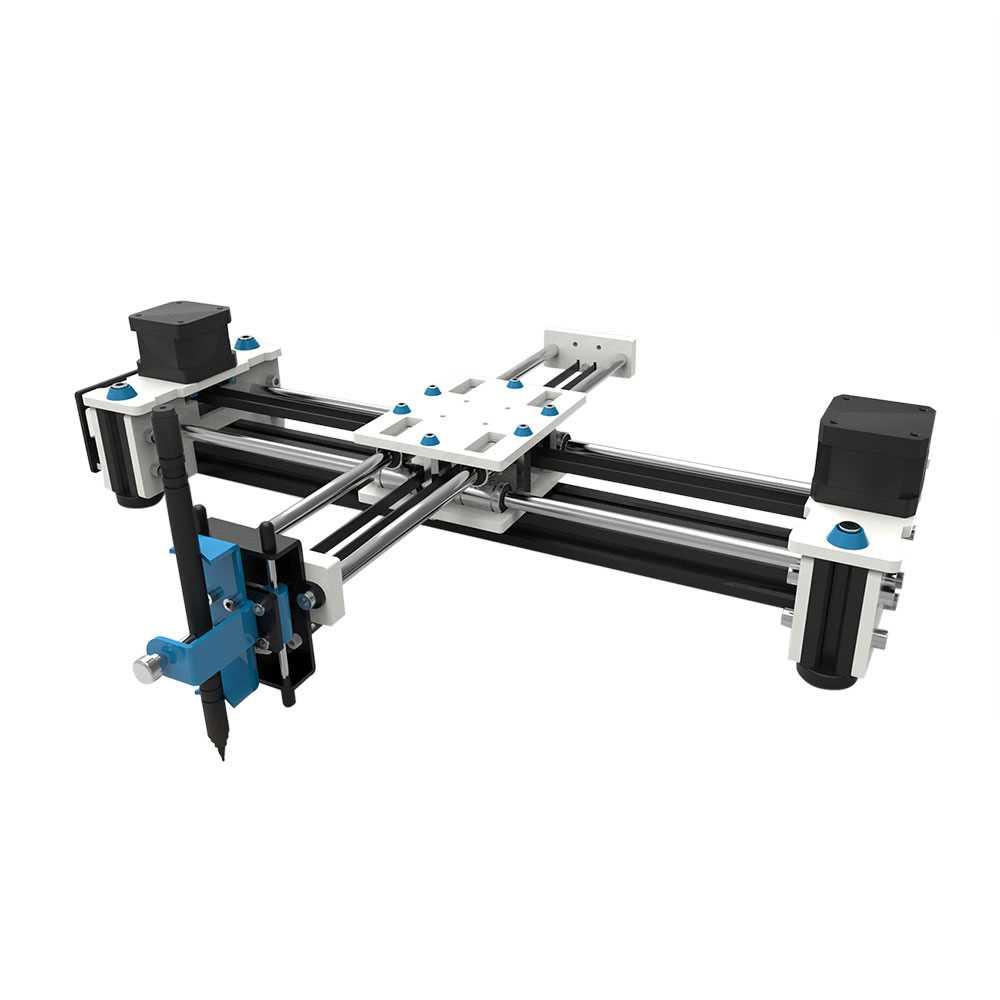 EleksMaker Desktop EleksDraw USB DIY XY Plotter Pen Drawing Robot Drawing  Mach