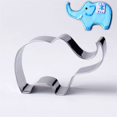 Elephant Animal Cookie Cutter Stainless Steel Cake Baking Biscuit Pastry Mould