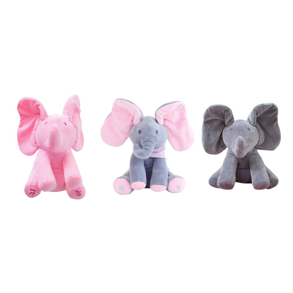 Elephant Stuffed Toy Electric Music End 8 28 2019 7 27 Pm