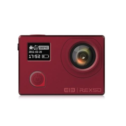 ELEPHONE REXSO EXPLORER DUAL 4K ACTION CAMERA ULTRA THIN / DUAL SCREEN (WINE R