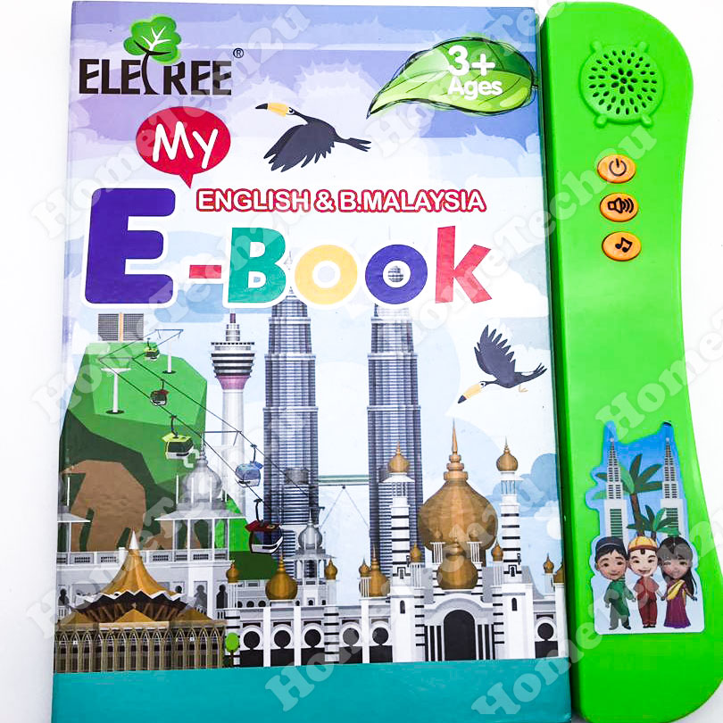 ELETREE Dual Language Ebook Children Learning E Book English & Bahasa
