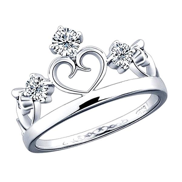 Elfi 925 Genuine Silver Couple Ring C44