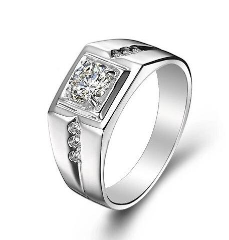 Elfi 925 Genuine Silver Engagement Ring R16 - The Gallant