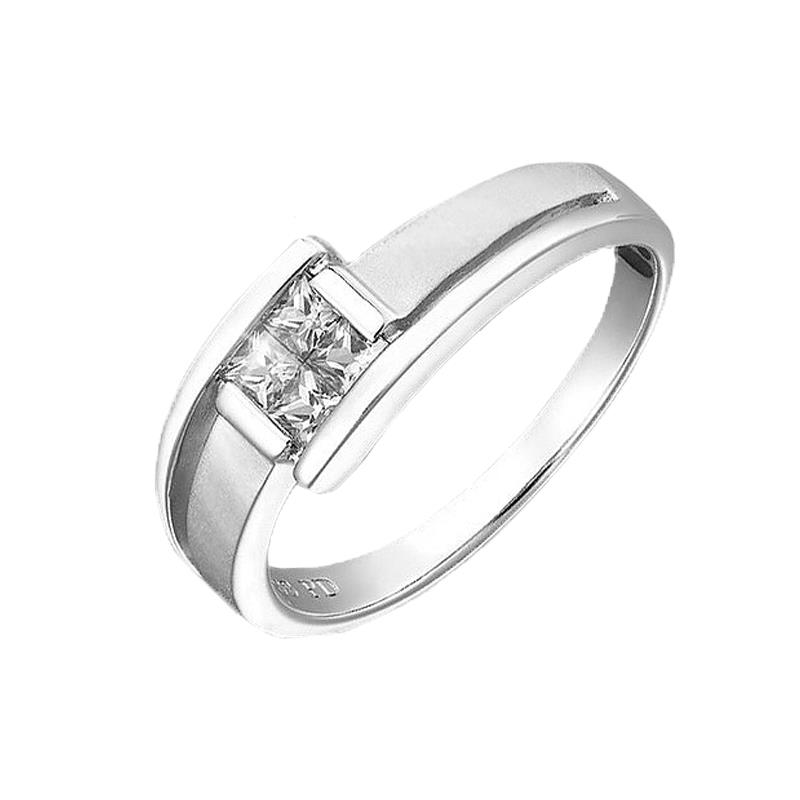 Elfi 925 Genuine Silver Engagement Ring R33 - The Dapper One