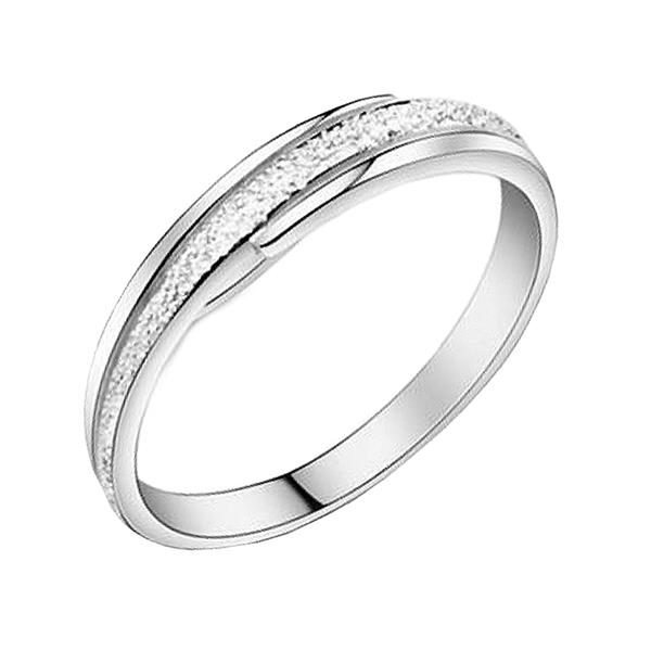 Elfi 925 Genuine Silver Engagement Ring T29 - The Emphasis