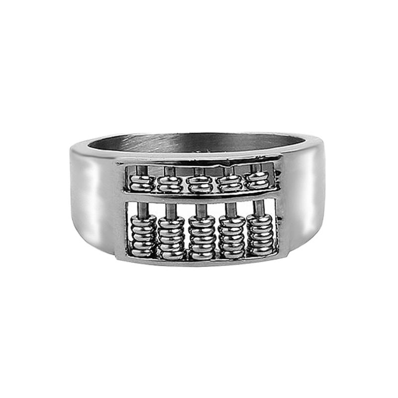 Elfi 925 Genuine Silver Ring M31 - The Abacus of Wisdom