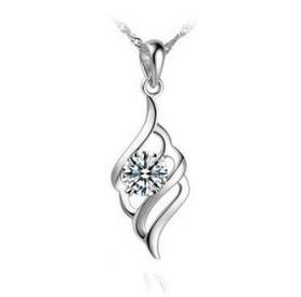 Elfi Genuine 925 Sterling Silver Necklace Pendant SP24