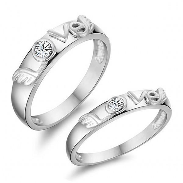 Elfi White Gold 925 Silver Couple Ri end 3 29 2016 3 15 AM