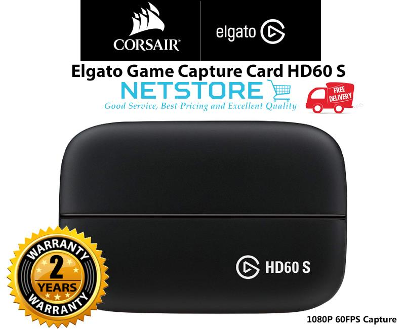 ELGATO Game Capture HD60 S Game Recorder (HD60S) - 1080P 60FPS