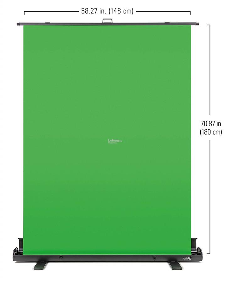 # ELGATO Green Screen - Collapsible Chroma Key Panel #