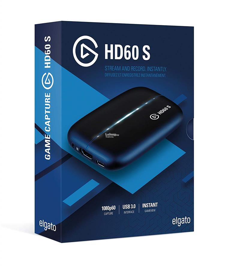 # ELGATO HD60S High Definition Game Recorder #