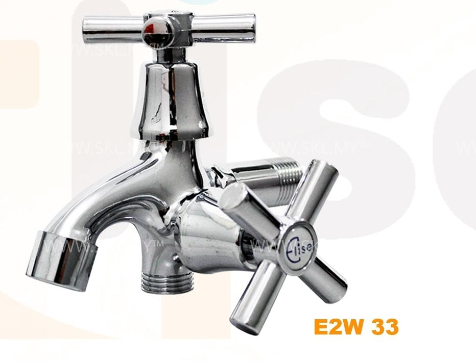 ELISE Double Head Water Tap Faucet (end 3/24/2020 10:15 PM)