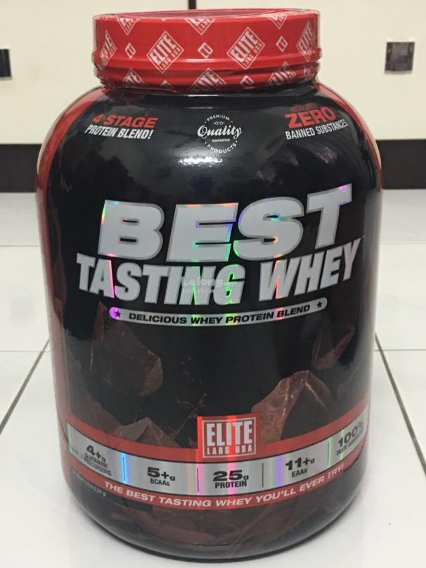 ELITE LABS USA BEST TASTING WHEY PROTEIN 5.03 Lbs MUSCLE SUSU PROTIN