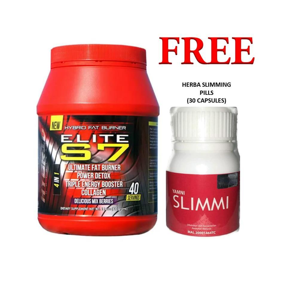 Elite S7 Hybrid Mega Fat Burner with FREE XTRA GIFT