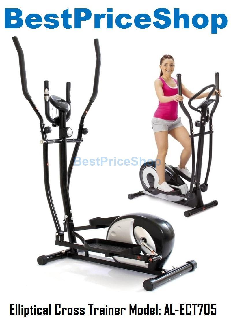 Elliptical Cross Trainer Bicycle Slim Cycling Exercise Bike AL-ECT705