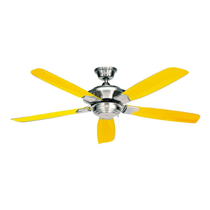 Yellow Ceiling Fan : Yellow ceiling fan design ideas