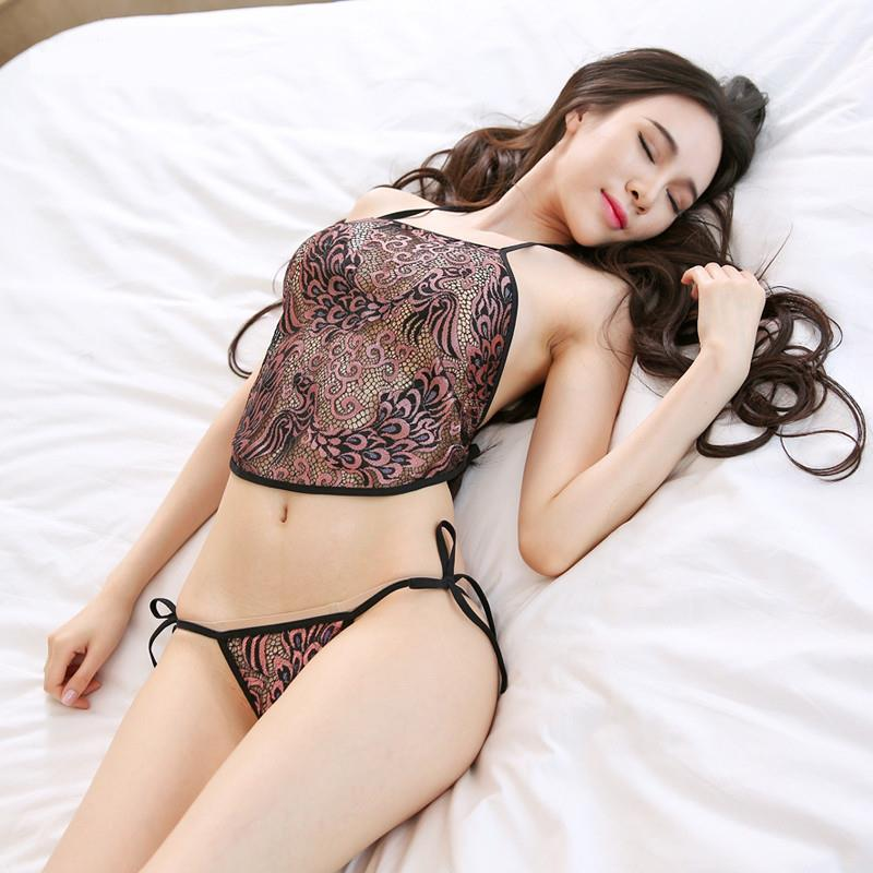 166cdc848d0c1 Emboidery Sexy Chinese Costume Bra + G-string Lingerie Sleepwear S318. ‹ ›