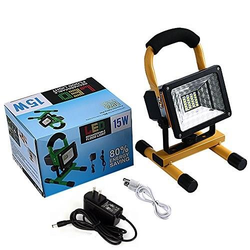 Emergency Led Rechargeable Flood Light 15W