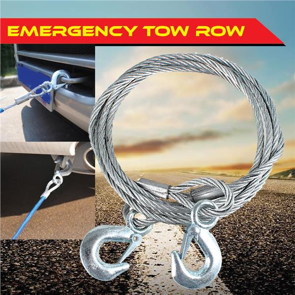 Emergency Rescue Wire Tow Rope Stain (end 8/22/2019 8:15 AM