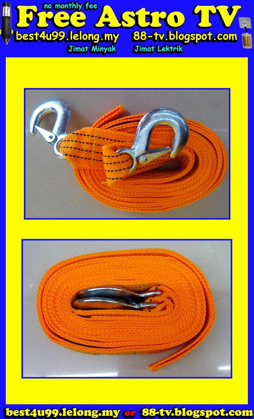 EMERGENCY Towing Strap Rope Heavy Duty Hooks towing rope car lorry van