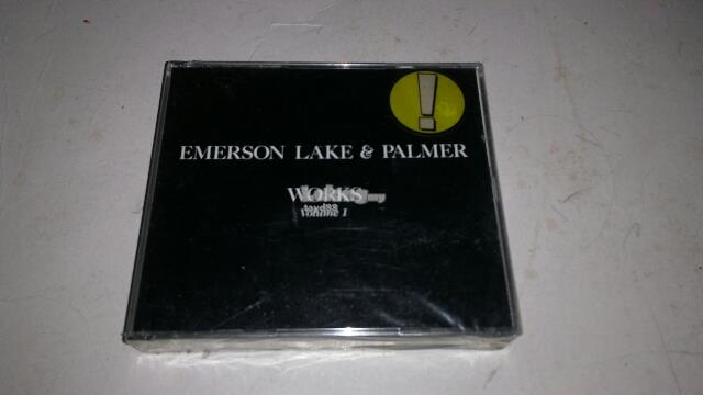 EMERSON LAKE & PALMER - WORKS VOLUME 1 2-CD (IMPORTED)