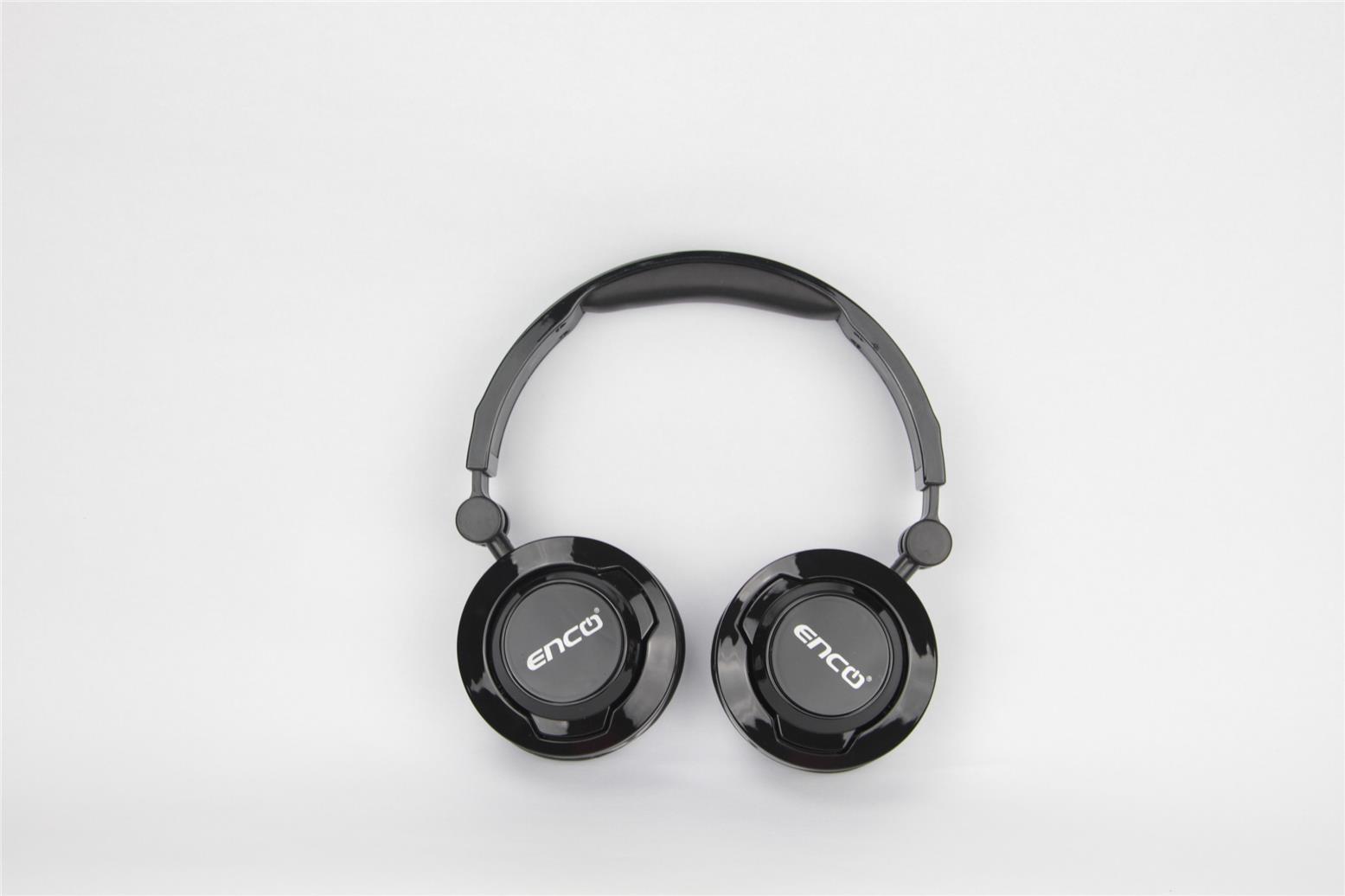 Enco AH500 Foldable Stereo Headset Black