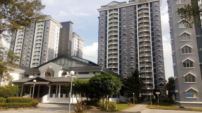 Endah Villa Condo for sale, Corner, Fully Furnished, Sri Petaling, KL