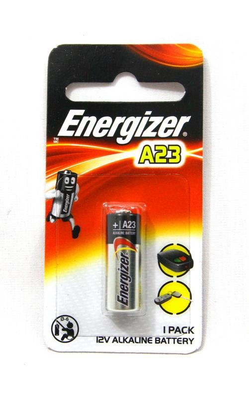 ENERGIZER 12V MINIATURE ALKALINE BATTERY, (A23BP1G)