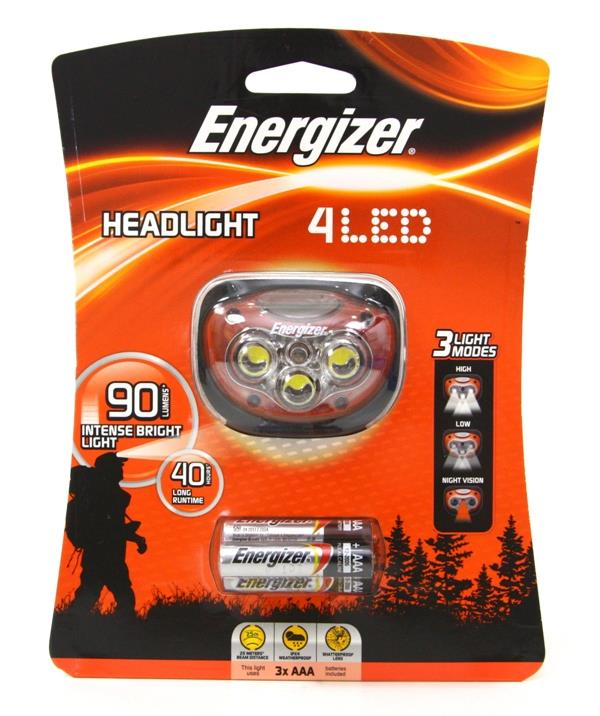 Energizer 4 LED Headlight Headlamp